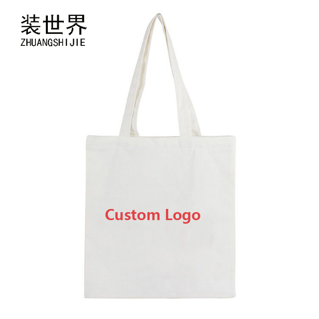 38 34cm Cotton Canvas Printing Handbags For Women Shopping Book Tote Bag  Handbag Custom Logo Print Ladies Shoulder Bags BB033 d487911b5