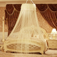 UNIKEA Single Door Circular Hung Dome Mosquito Nets Canopy 0 7cm Diameter Bedding Campin Gnew Design
