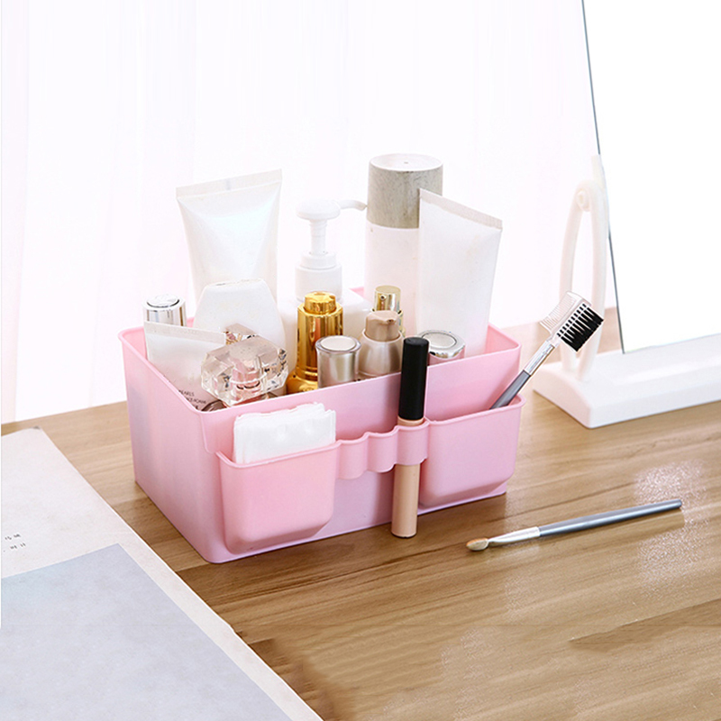 Make Up Sundries Container Bathroom Jewelry Plastic