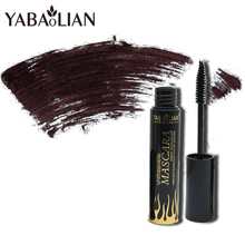 yabaolian new Brand Natural Curling Mascara Eyelash Curl Extension Voluming Black 3D Quick Dry Eyes Lashes Makeup