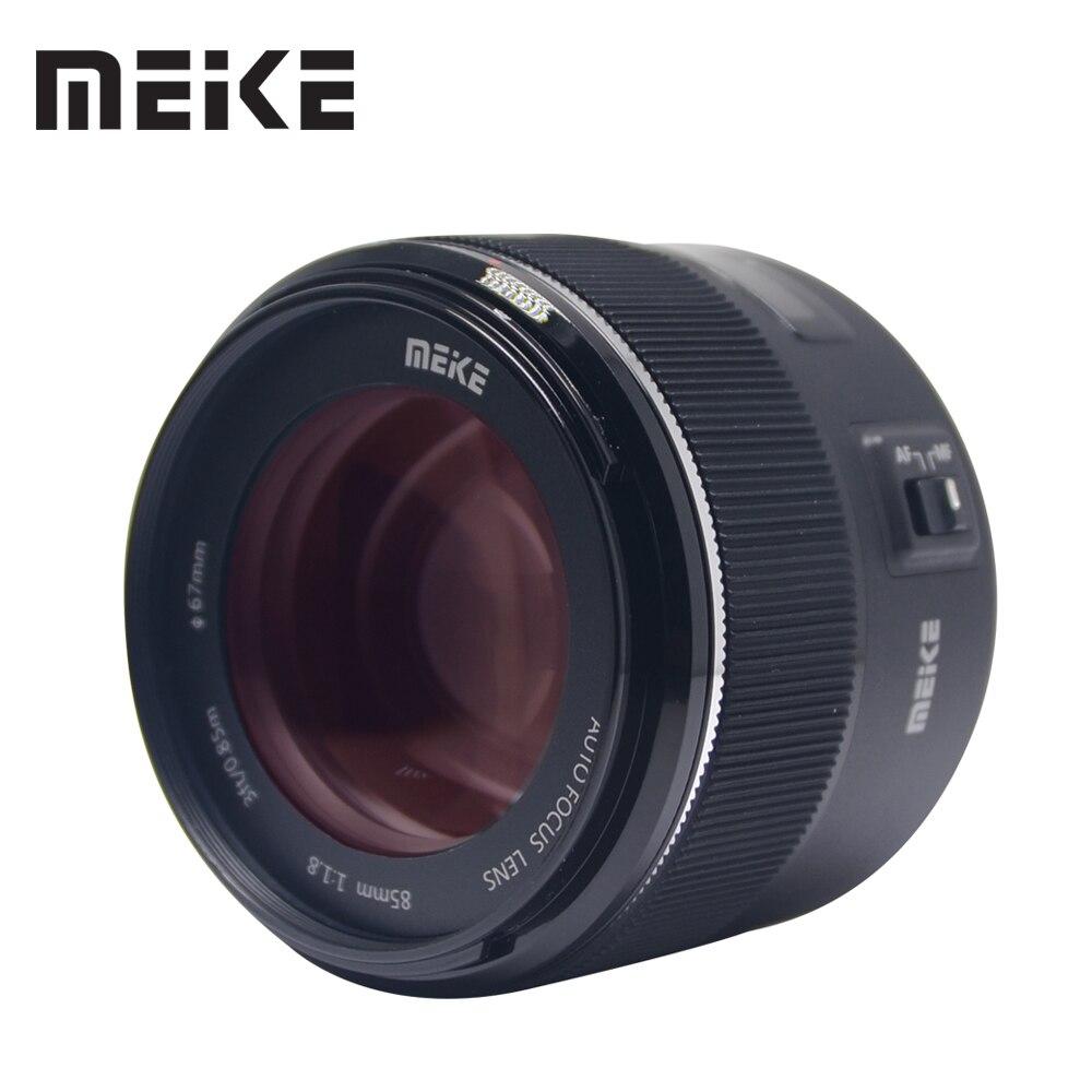 Meike 85mm F/1.8 Auto Focus Lens pour Canon EOS EF Mont 5D2 5D3 7D 60D 70D1300D 600D DSLR Caméras Plein Cadre
