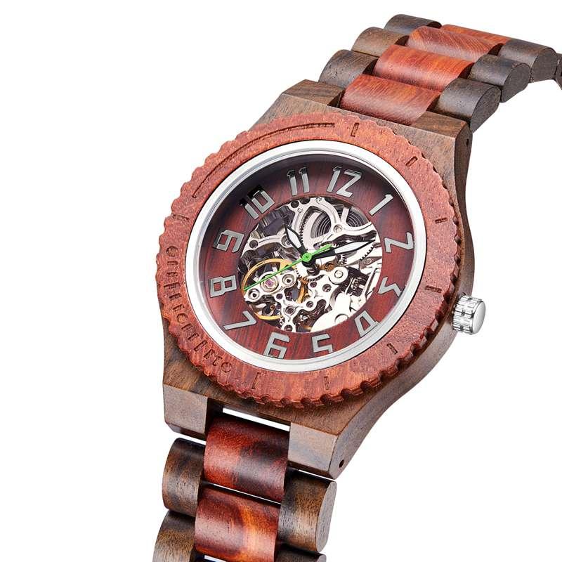 Wood Watch Quartz Watches Wooden Wooden Watch Men23- (2)