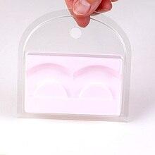 50 или 100 шт./лот милые розовые ресницы чехол для полной накладные ресницы