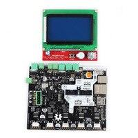Smoothie доска 5X V1.1 + 12864 ЖК дисплей экран комплект для 3d принтеры XXM8