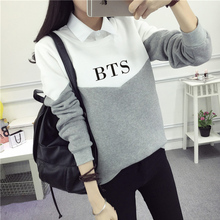BTS Two-Color Sweatshirts (2 Models)