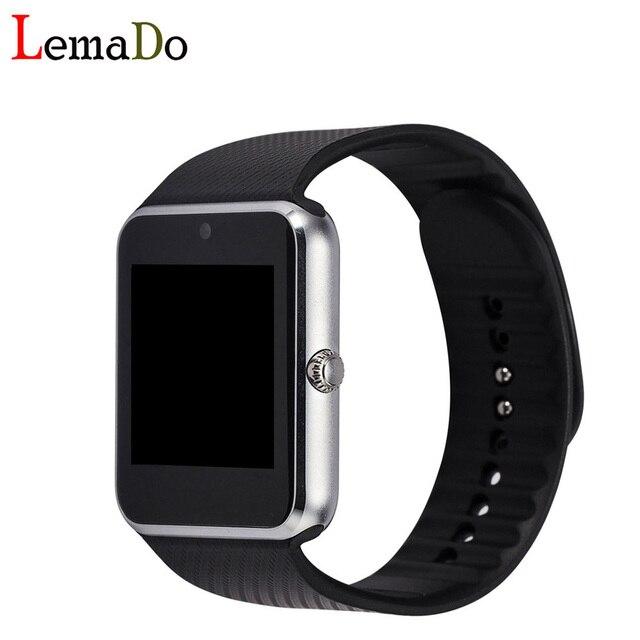 """Lemado GT08 533 МГц MTK6261 Смарт Смотреть 1.54 """"дюймовый TFT HD LCD smartwatch наручные часы громкой связи Bluetooth телефон позвоните для android"""