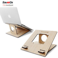 Universal Bamboo Tablet Laptop stand for MacBook pro 13 11.6 13.3 15.4 inch for asus laptop for ipad pro 12.9 10.5 Accessories