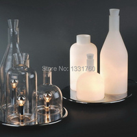 ITRE Rosati Bacco 123 bottle table lamp fashion glass table lighting