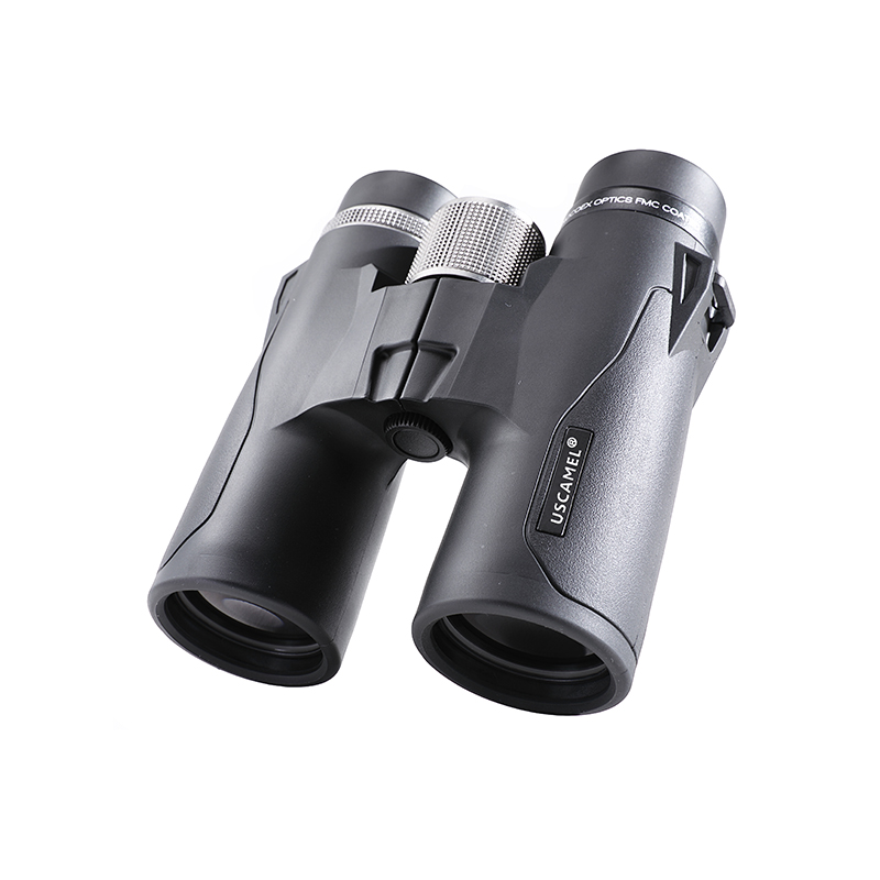 USCAMEL Binoculars Military HD 10x42 High Power Telescope Professional Hunting Outdoor Black