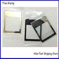 100% original espejo pantalla frontal lente de cristal para nokia 8800 sirocco frente lente de cristal + adhesivo + logo