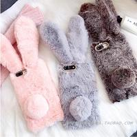 For Xiaomi Redmi 4X Rabbit Fur Case Cover For Xiaomi Redmi Note 4x Mi6 Redmi 4A