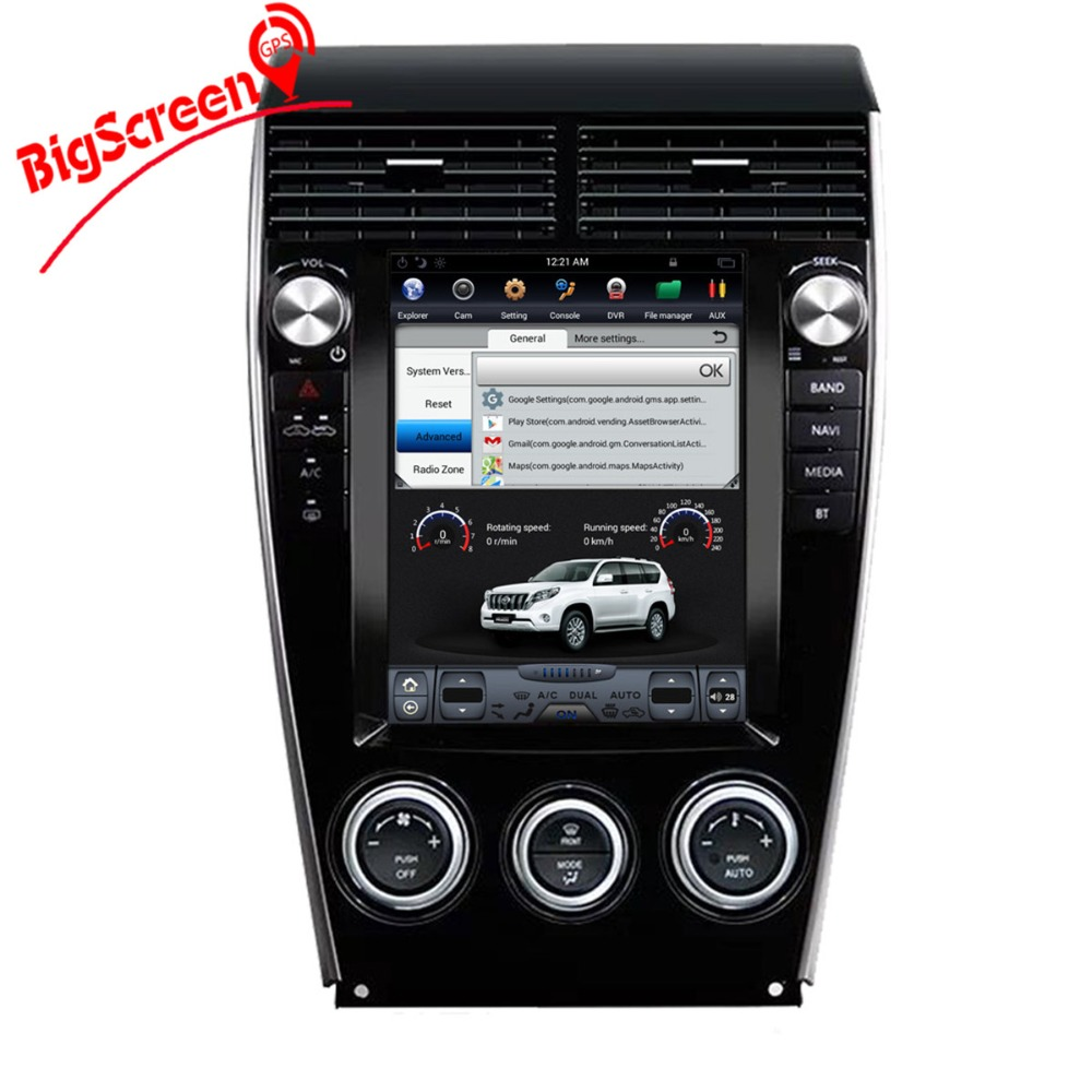 "Tesla Style 10.4""Android 6.0 32GB ROM Car dvd Player GPS Navi For Mazda 6 2002-2015 Multimedia Stereo Car Radio Headunit  Audio"
