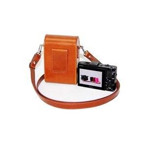 Image 5 - מצלמה תיק עור מקרה עבור Panasonic LX10 LX15 TZ95 TZ96 TZ91 TZ90 TZ80 TZ70 TZ60 TZ50 TZ40 TZ30 ZS80 ZS70 ZS50 ZS30 ZS20