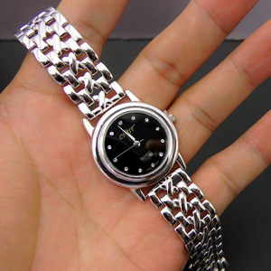 Image 4 - S925 Sterling Silver Fashion Simple Retro Thai Silver Ladies New Watch Bracelet Detachable Section