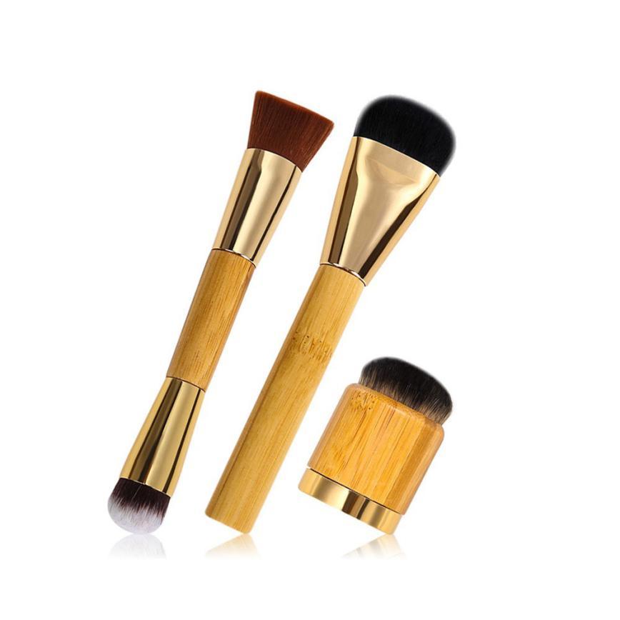 Beauty 3PCS Makeup brush Powder Concealer Blush Contour Brush Cosmetic Concealer Brushes drop shipping apr27