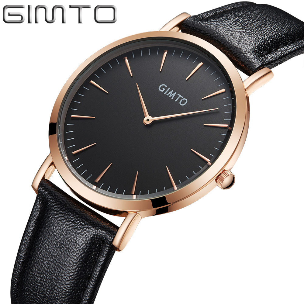 Ladies Fashion Quartz Watch Women Men Leather Strap Rose Gold Casual Dress Wrist Watch Female Clock reloj mujer montre femme classic luxury formal unisex dress quartz men women wrist watch rose golden metallic strap decorational subdial gift box