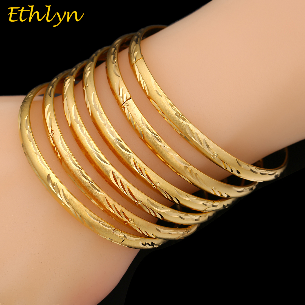 cute gold africa men charm arab women bangle ethiopian jewelry bracelet kids wedding dubai bride product for