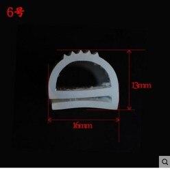 16mm x 13mm o wysokiej temperaturze silikonowe e artykuł gumowa taśma uszczelniająca uszczelka