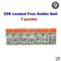 Free Shipping 7 Pcs Lot Leaded Free Solder Balls 0 3 0 35 0 4 0