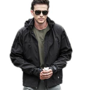 Image 2 - Self Defense Security Anti cut Anti Stab Men Jacket Bodyguard Stealth Defense Police Personal Tactics fleece hooded blouse tops