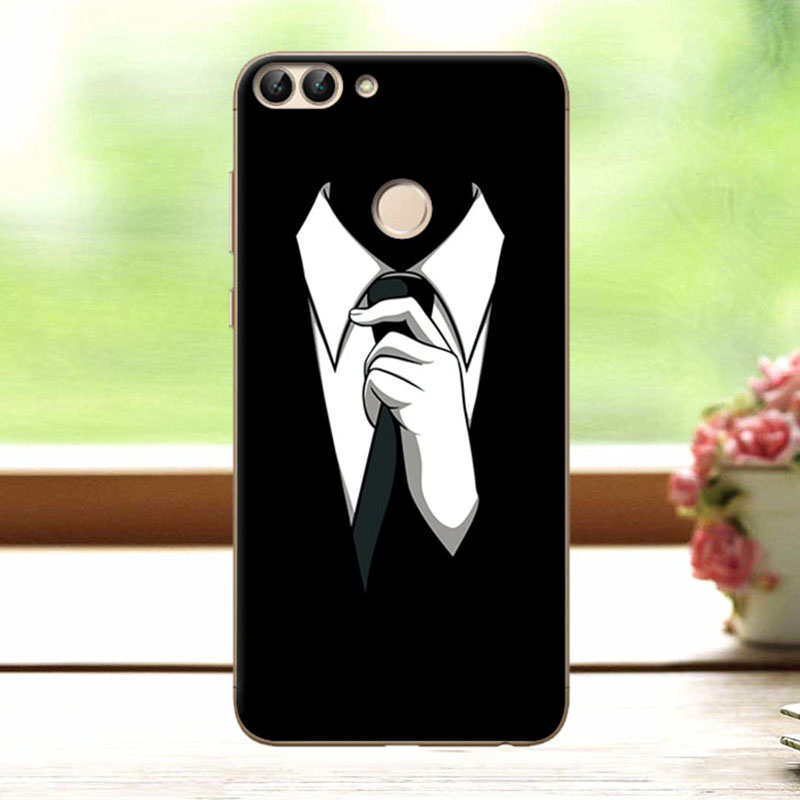 Dark Mens Style Wolf Phone Case Cover For Huawei P Smart Silicon Covers Fundas For Huawei P Smart PSmart Case Capa Coque 5.65