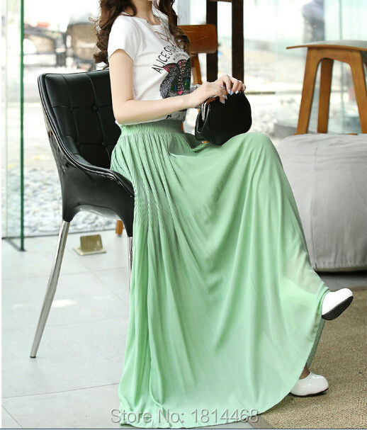 fde72c66bb New arrival most popular latest long skirt design pleated maxi skirt -in  Skirts from Women's Clothing on Aliexpress.com | Alibaba Group
