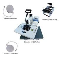 New Design 4 In 1 Combo Heat Press Machine,110V 240V Heat Transfer/Sublimation Machine,sublimation printer For CE Certificate