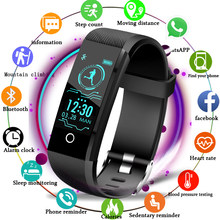 LIGE Sport Smart Bracelet Men Smart Watch Women Fitness Tracker Smart Wristband Heart Rate Blood Pressure Monitor Pedometer+Box(China)