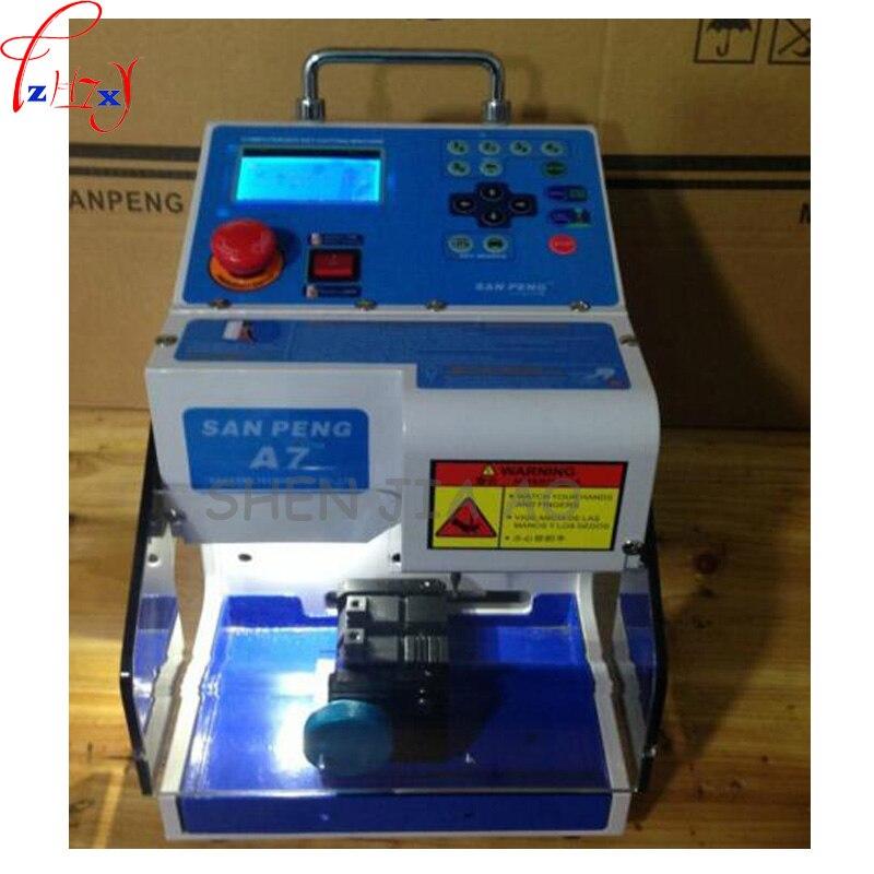 Newest Automatic MIRACLE-A7 Key Cutting machine MIRACLE A7 Full Automatic Electronic Key Cutting Machine automatic spanish snacks automatic latin fruit machines