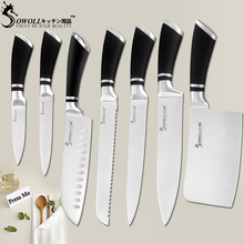 SOWOLL Kitchen Knives Stainless Steel Knives