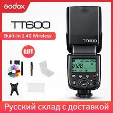 Беспроводная вспышка Godox TT600 2,4G GN60 Master/Slave для камеры