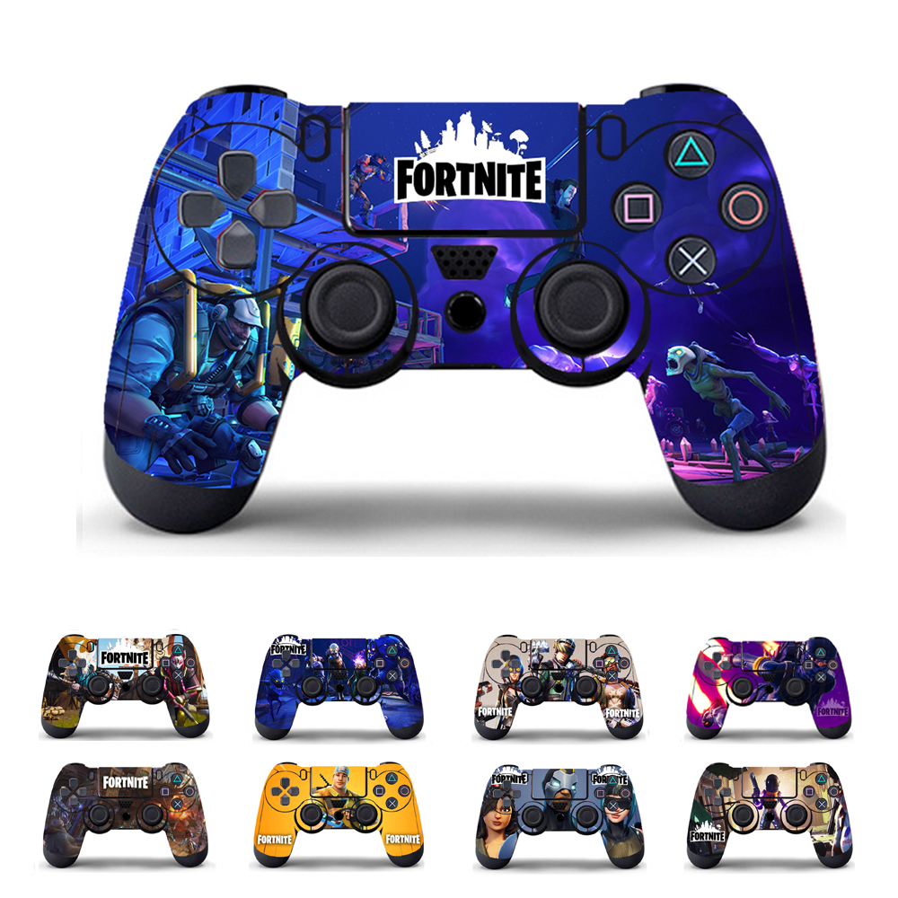 Skin Vinyl For For PS4 console gamepad Sticker Cover For PlayStation 4 Joypad Decal For Sony PS4 Joystick cool car style game console and handle protection stickers skin decal for ps4