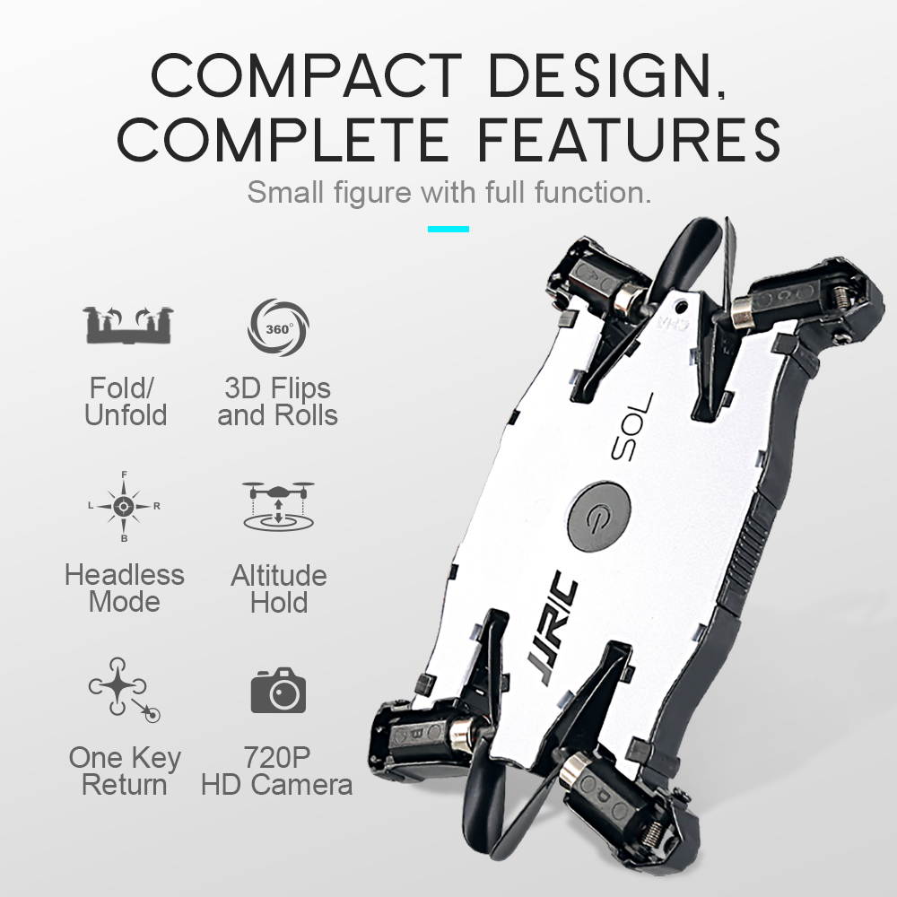 RC Helicopter Ultrathin Foldable Pocket Selfie Aircraft Toys Drone with 720P HD Camera Phone APP Wifi FPV Control Quadrocopters цены