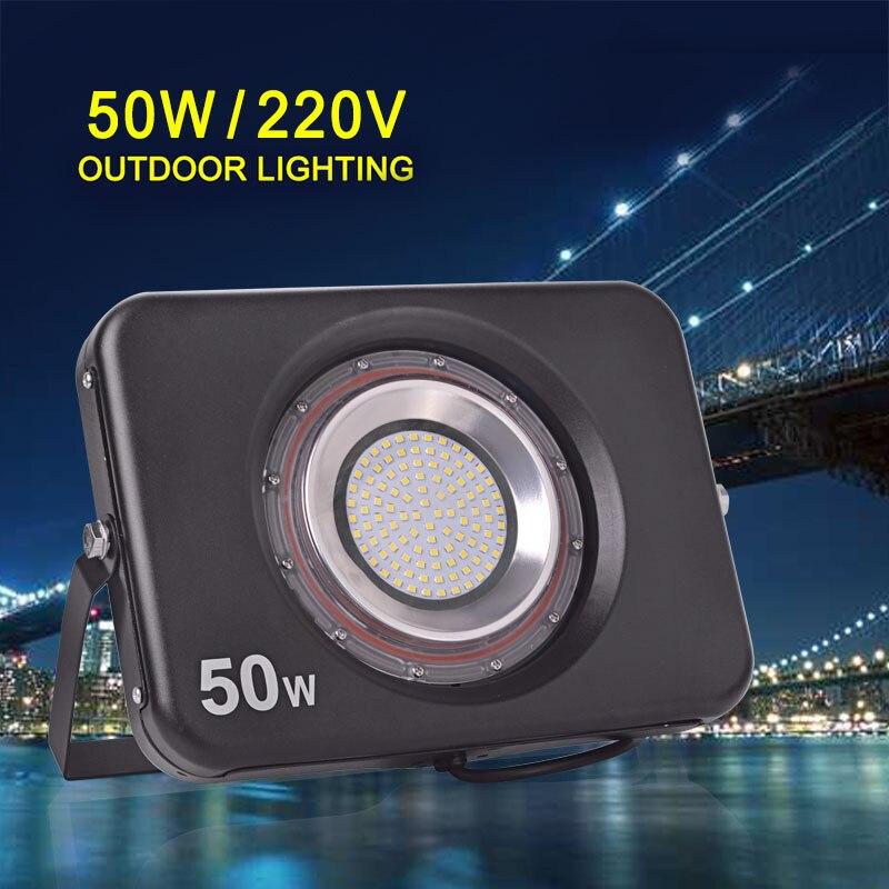Reflector LED ultrafino 220V 240V Luz de inundación LED 10W 20W 30W - Iluminación exterior - foto 3