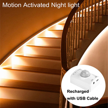 Motion Sensor Led Light Motion Activated Bed Light LED Strip Sensor Night Light Illumination with Automatic