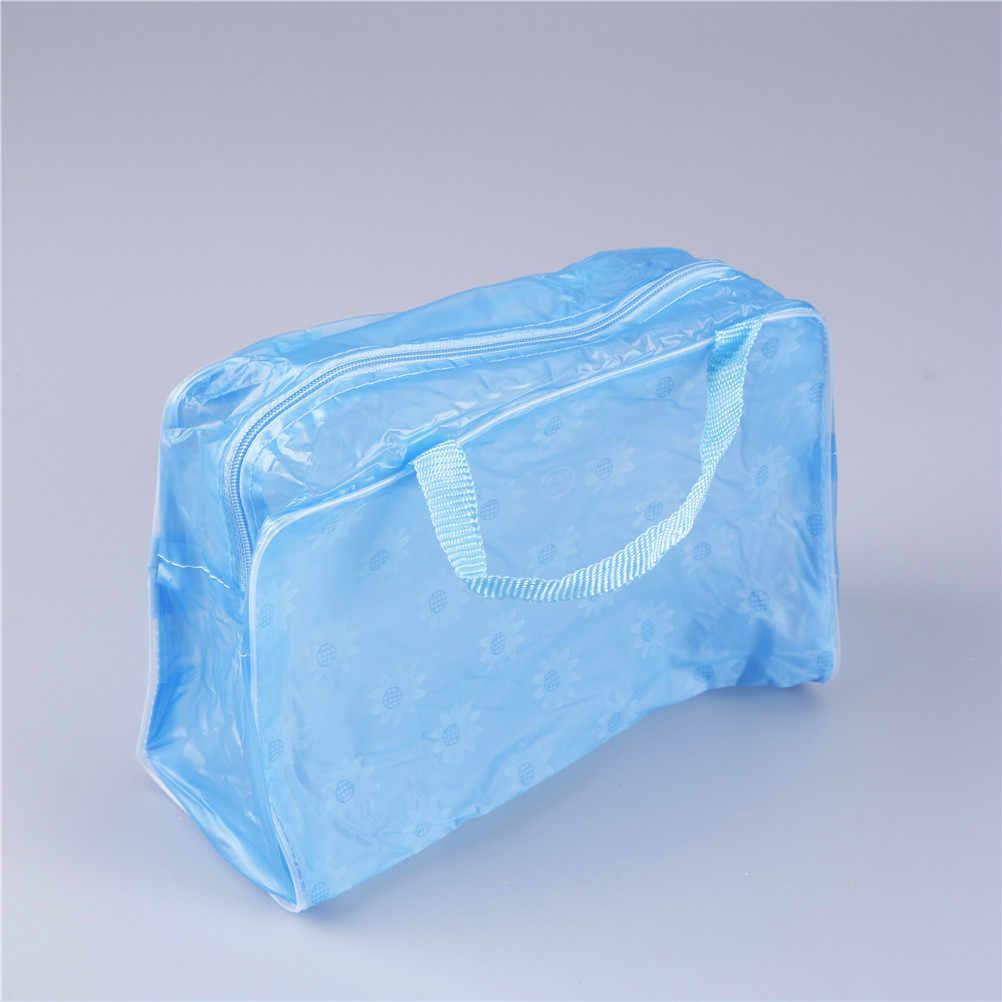 1 шт. пластиковый прозрачный Органайзер сумки косметички макияж повседневные дорожные водонепроницаемые туалетные принадлежности, мытье стакан в ванной сумки 5 цветов