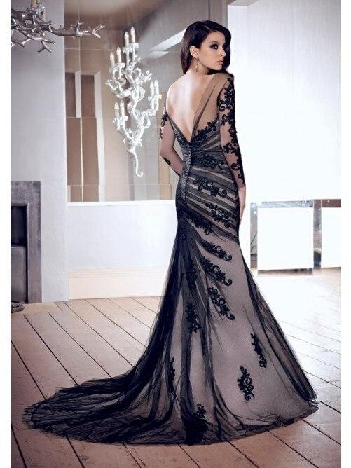 Ultima moda en vestidos largos elegantes Moda Espaola moderna 2018