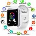A1 Smart Horloge Klok Sync Notifier horloge Ondersteuning SIM TF Card Camera bluetooth-connectiviteit Apple iphone Android Telefoon Smartwatch