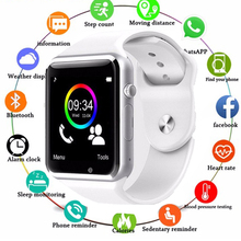 цена на A1 Smart Watch Clock Sync Notifier watch Support SIM TF Card Camera bluetooth Connectivity Apple iphone Android Phone Smartwatch