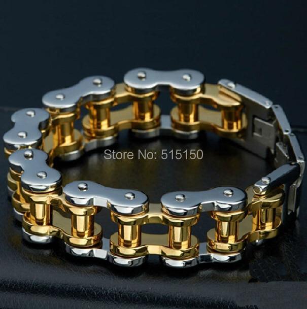 Fashion font b Jewelry b font Punk Heavy HUGE 316L Stainless Steel font b Bracelet b