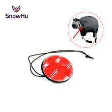 цена на Go pro accessories Camera Tether Strap with 3M Sticker Mount  for Gopro Hero 4 3+ 3 2 SJ4000 SJcam xiaomi yi camera GP21