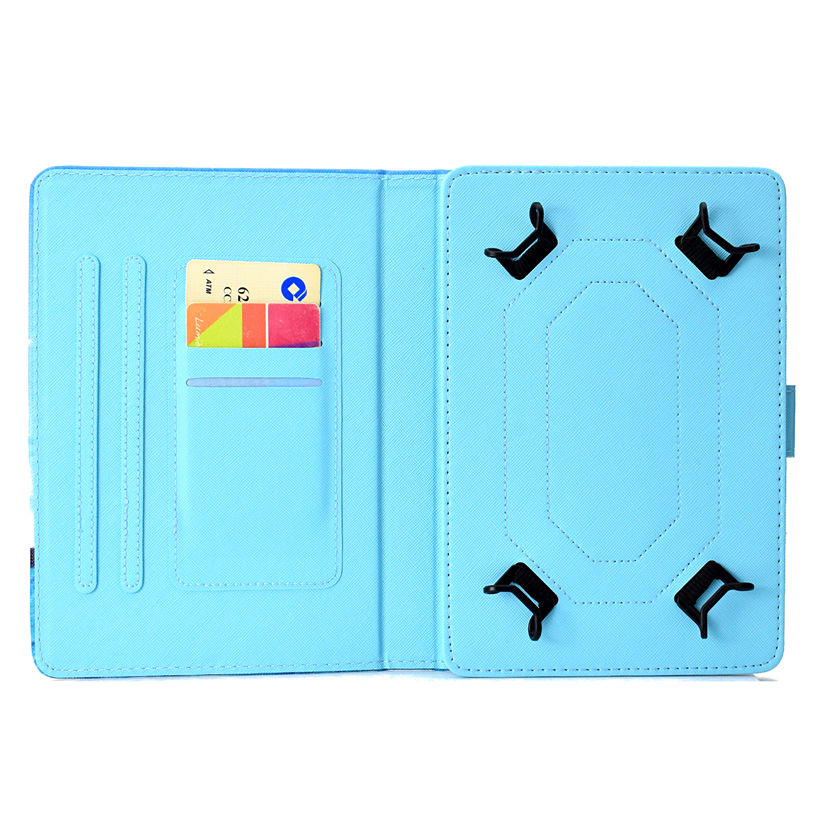 Universal Case for 9.6 9.7 10 10.1 10.5 Inch Tablet Cover for iPad Pro Air 2018 Samsung Huawei PU Leather Stand Funda Shell