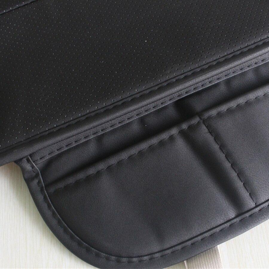 Image 5 - 1 шт. искусственная кожа черный Передний автомобильный чехол для сиденья Защитная Подушка черные автомобильные аксессуары для интерьера-in Чехлы на автомобильные сиденья from Автомобили и мотоциклы