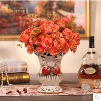 European ceramic floret bottle Mini vase, flower arrangement, creative household act the role ofing is tasted mesa sitting roo