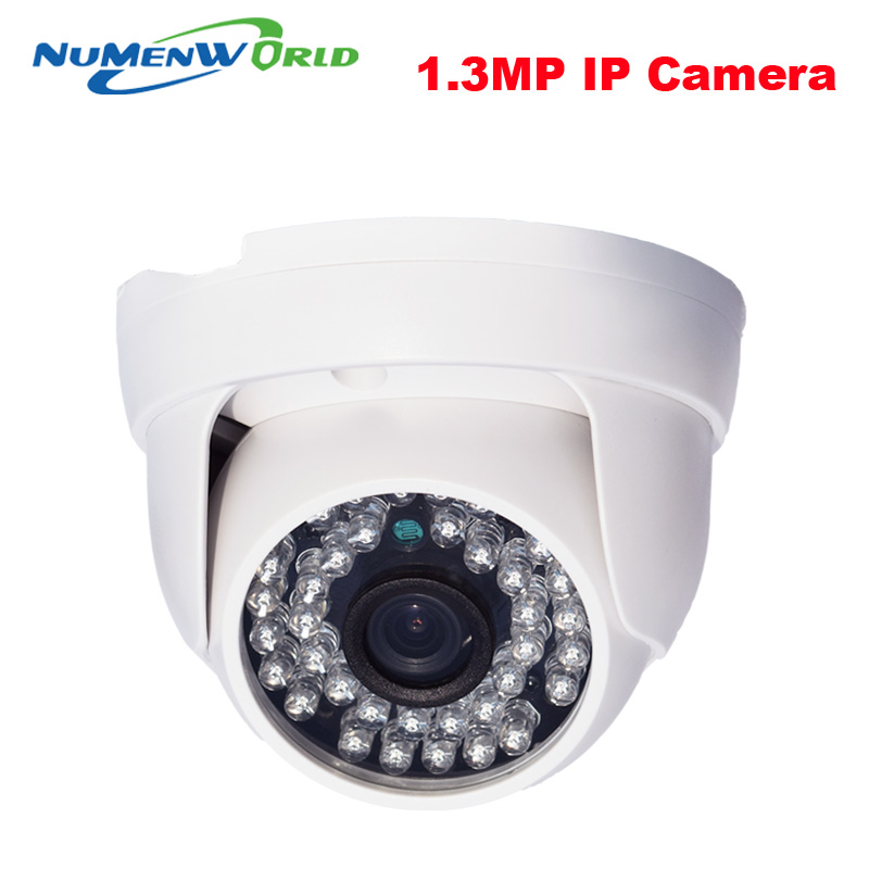 1.3MP 960P IP camera with IR-CUT filter P2P ONVIF 36pcs IR LEDs Network Security webcam support Android iOS indoor home use