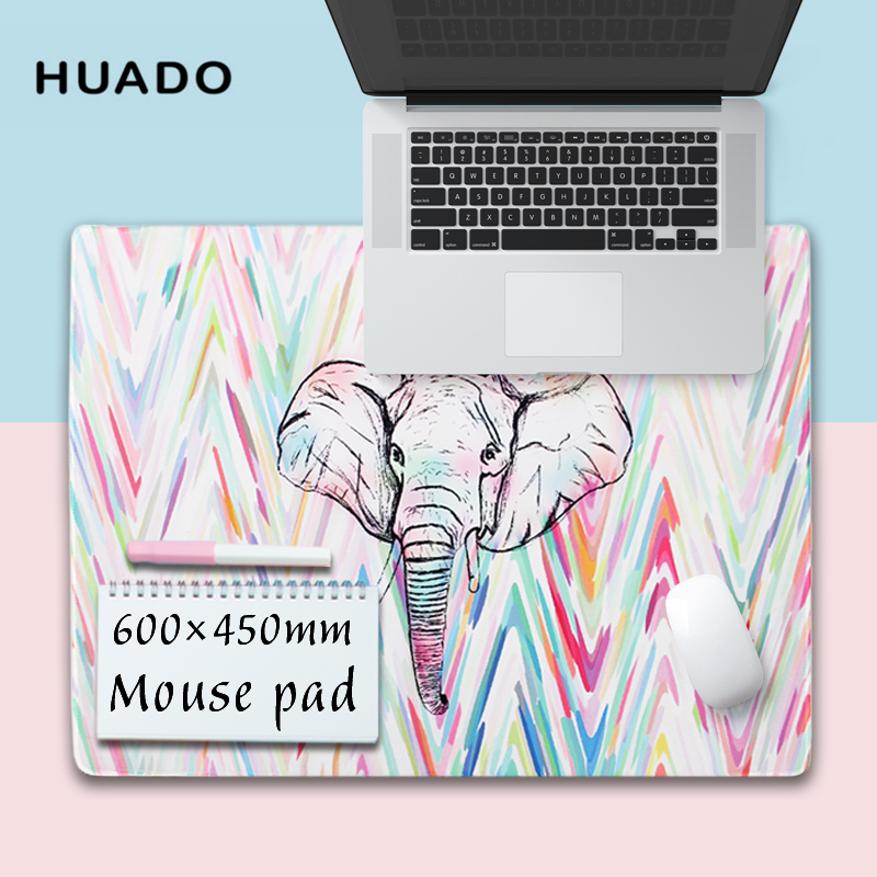 Large mouse pad for gamer mousepad desk mat 600*450mm big gaming mats for lol/overwatch/dota 2/hearthstone/office work/witcher