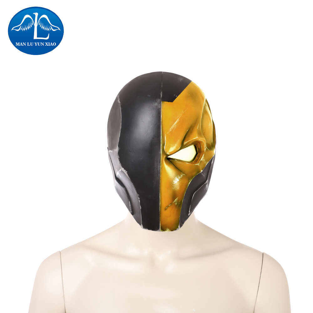 New Arrival Cosplay Mask Deathstroke Helmet Halloween Party Mask Slade Joseph Wilson Cosplay Mask