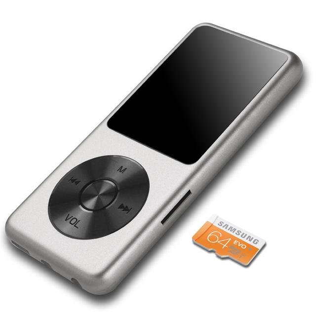 "1.8 ""pantalla FLAC Hifi Reproductor de Música 8 GB Reproductor Portátil De Audio Digital Original de la Marca de Audio Reproductor de MP3 con FM Grabadora de Voz"
