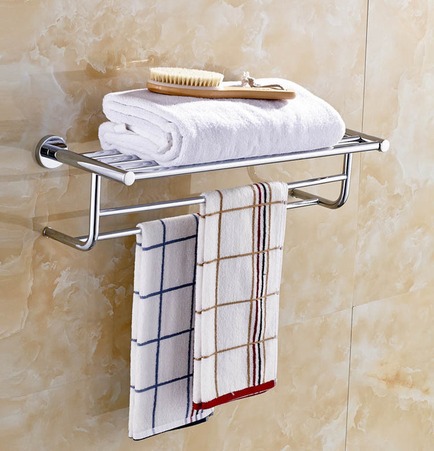 Brass Towel Rack Bathroom Fittings Towel Shelf Towel Rail Bathroom  Accessories Towel Holder 8921 1
