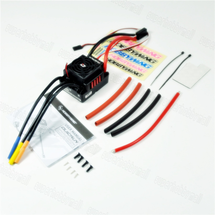 Hobbywing QuicRun-WP-8BL150 150A Waterproof Brushless ESC Speed Controller For 1/8 RC Buggy Monster Sport Car hobbywing quicrun wp 16bl30 hobbywing quicrun 30110000 brushless waterproof 30a sensorless esc wp 16bl30 for 1 16